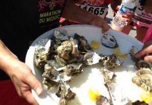 17,000個が用意されたという生牡蠣
